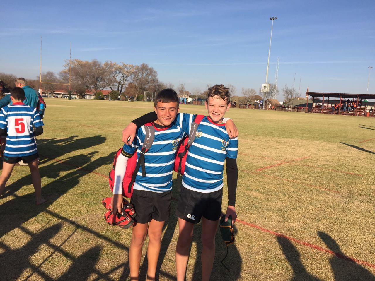JJ Fourie en Roelie Botha